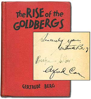 The Rise of the Goldbergs. Gertrude BERG