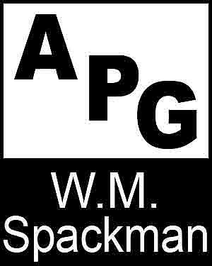Bibliography, First Edition and Price Guide (APG - Author's Price Guide Series). W. M. SPACKMAN,...