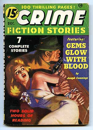 Crime Fiction Stories. Vol. 1 No. 1. December 1950