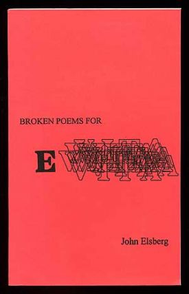 Broken Poems for Evita