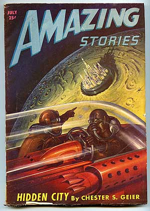 Amazing Stories: July 1947