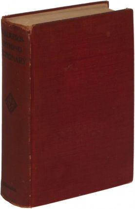 The Rhyming Dictionary of the English Language in Which the Whole Language is Arranged According to Its Terminations... Revised and Enlarged by J. Longmuir